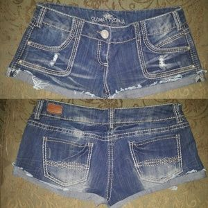 Almost Famous Short Shorts Size 11